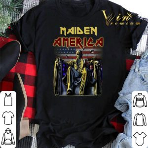 American flag Iron Maiden shirt 1