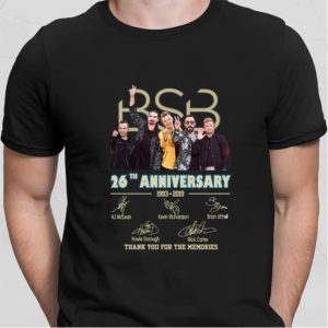 BSB 26th anniversary 1993-2019 thank you for the memories shirt