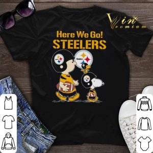 Here we go Steelers Snoopy Charlie Brown shirt sweater