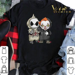 Jack Skellington Baby and Pennywise shirt