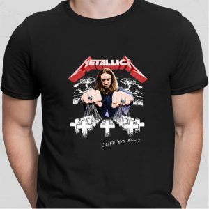 Metallica Cliff Burton Cliff em all shirt sweater