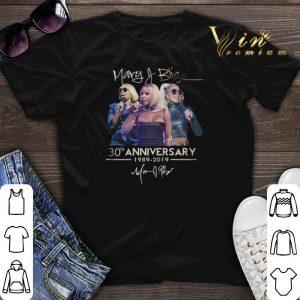 Signature Mary J. Blige 30th anniversary 1989-2019 shirt