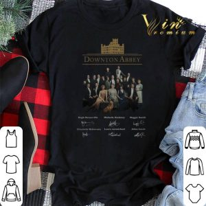 Signatures Downton Abbey all character shirt