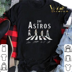 Signatures The Astros Houston Astros Abbey Road shirt