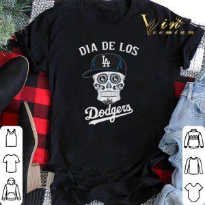 Skull dia de Los Angeles Dodgers shirt sweater