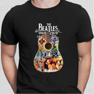 The Beatles 1960-2020 guitar signatures shirt