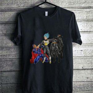 Vegeta Batman and Superman shirt