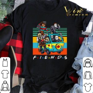 Vintage Friends characters Horror movies shirt