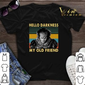 Vintage Pennywise hello darkness my old friend shirt