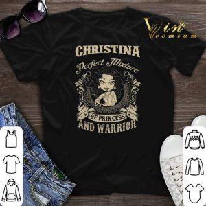 Christina Perfect mixture of princess and warrior shirt sweater