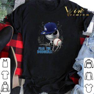 Fear The Dodgers Jack Skellington shirt