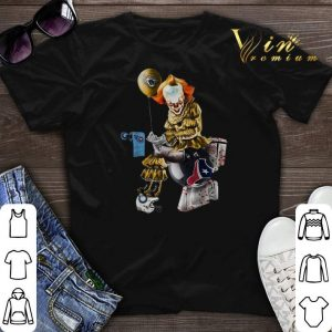 Pennywise Jaguars Tennessee Titans Houston Texans Toilet shirt sweater
