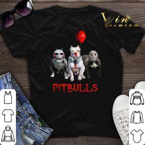 Pitbulls Jigsaw Pennywise Jason Voorhees shirt sweater