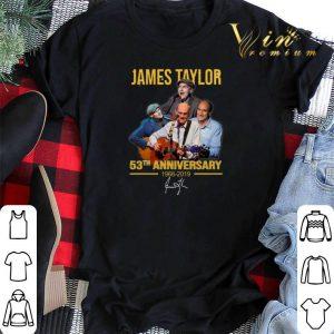 Signature James Taylor 53th anniversary 1966-2019 shirt