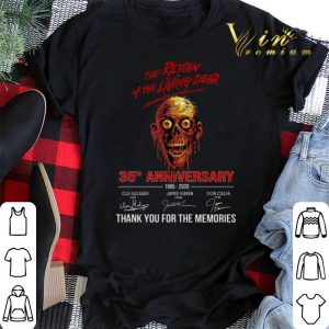 The return of the living dead 35th anniversary 1985-2020 shirt sweater