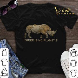 There Is No Planet B Rhino Unicorn shirt sweater