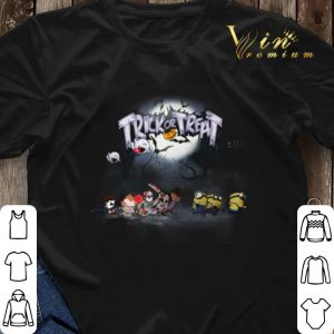 Trick or treat Horror movie characters minions shirt sweater 2