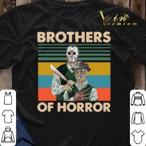Vintage Jason Voorhees Brothers Of Horror Freddy Krueger shirt 2