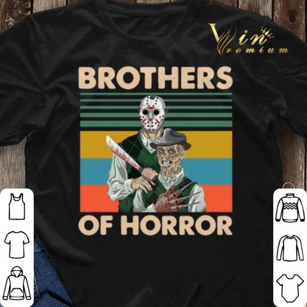 Vintage Jason Voorhees Brothers Of Horror Freddy Krueger shirt