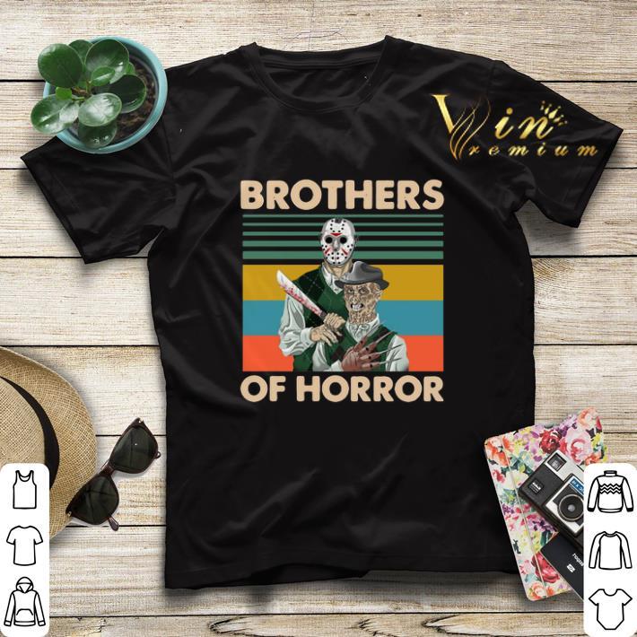 Vintage Jason Voorhees Brothers Of Horror Freddy Krueger shirt 4 - Vintage Jason Voorhees Brothers Of Horror Freddy Krueger shirt
