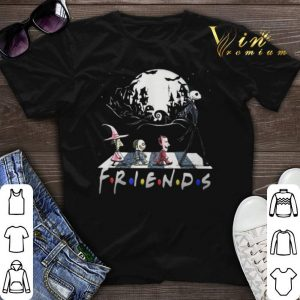 Abbey Road Nightmare Before Christmas characters Friends shirt