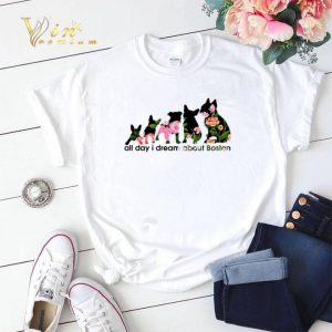Adidas all day i dream about Boston Terrier shirt sweater