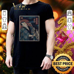 Awesome Samurai Saxophone shirt 2