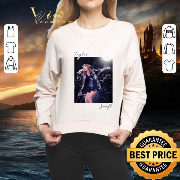 Awesome Taylor Swift sing live signature shirt