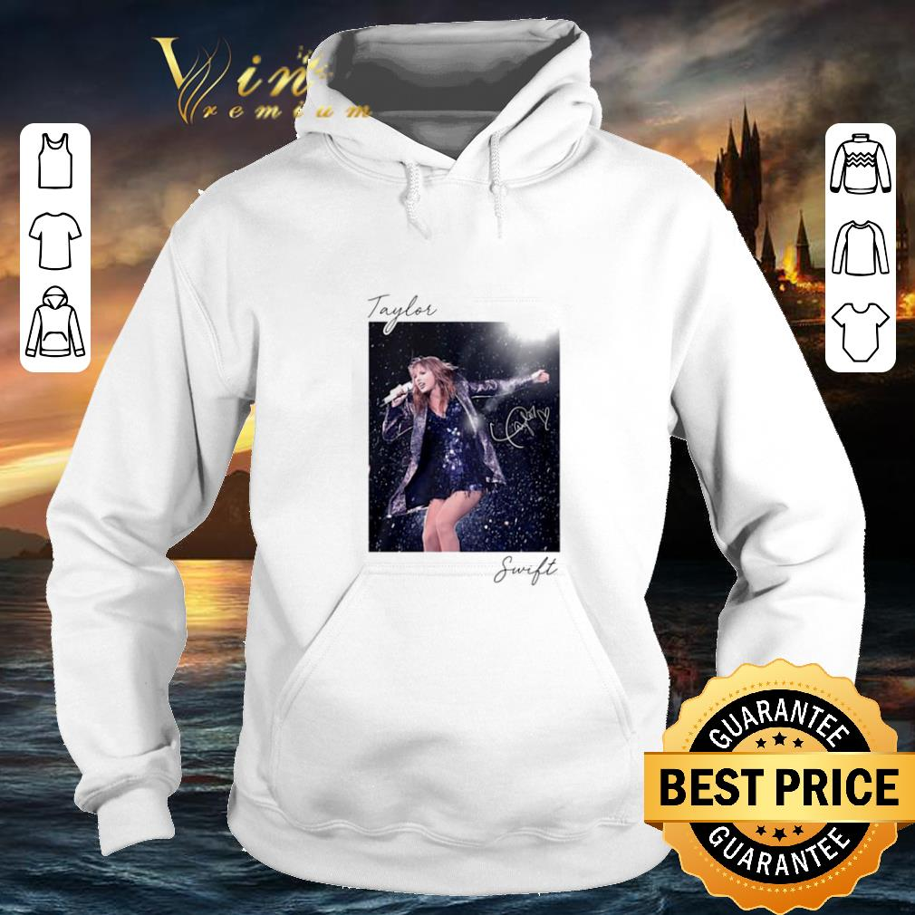 Awesome Taylor Swift sing live signature shirt 4 - Awesome Taylor Swift sing live signature shirt