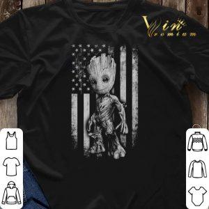 Baby Groot American flag Marvel shirt sweater 2