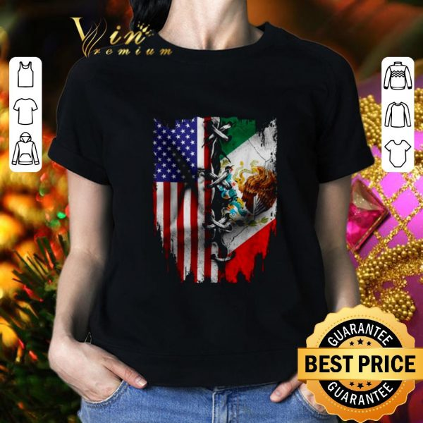 Best 4th Of July independence day Mexico United States shirt