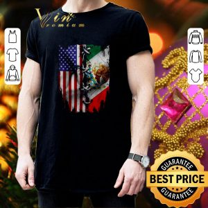 Best 4th Of July independence day Mexico United States shirt 2