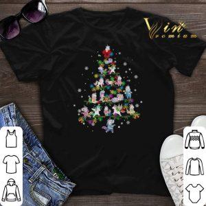 Christmas tree lights Unicorn shirt