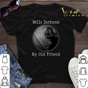 Darth Vader Hello Darkness My Old Friend Death Star shirt sweater