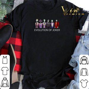 Evolution of Joker 1940-2019 shirt sweater