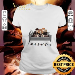 Friends TV Series Harry Potter Ron Hermione shirt