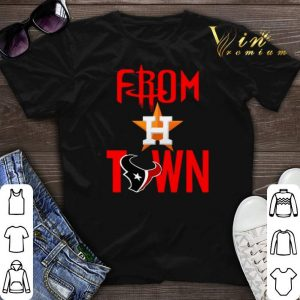 From Town Houston Astros Houston Texans shirt sweater