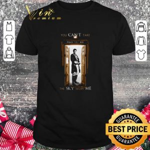 Hot Firefly you can't take police public call box the sky from me shirt