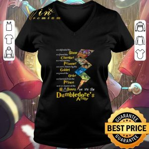 Hot Harry Potter Stone Chamber Hallows we are the Dumbledore's Army shirt