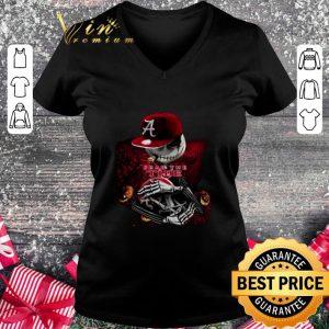 Hot Jack Skellington Fear the Tide Alabama Crimson Tide shirt