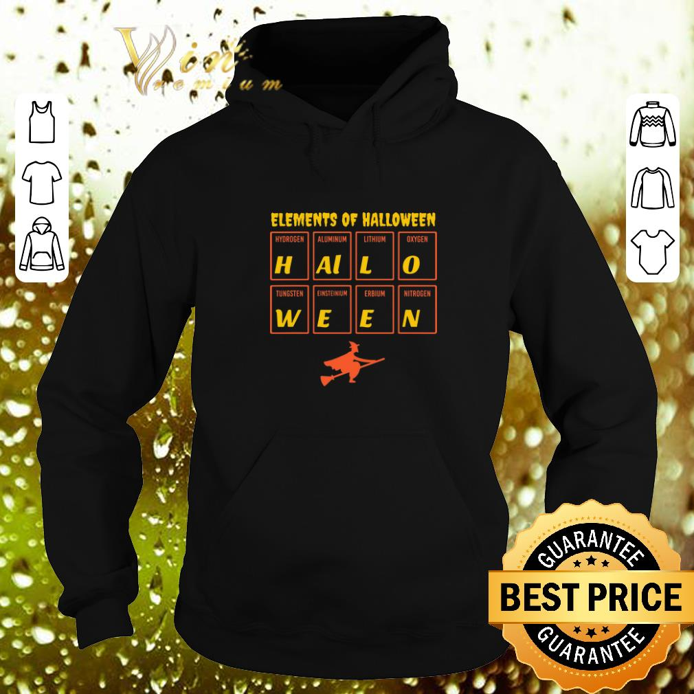 Hot Witch Elements of Halloween Periodic Table Molecule shirt 4 - Hot Witch Elements of Halloween Periodic Table Molecule shirt