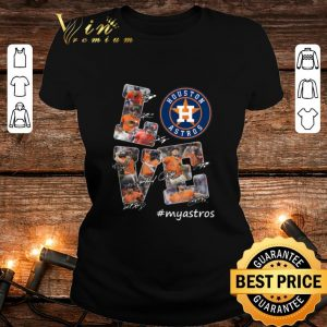 Houston Astros Love myastros signatures shirt