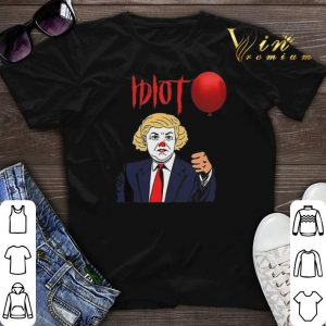 Idiot Pennywise Trump shirt sweater