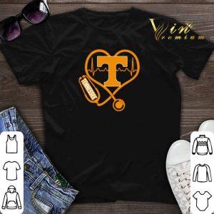 Love Tennessee Volunteers Stethoscope Heartbeat nurse shirt sweater