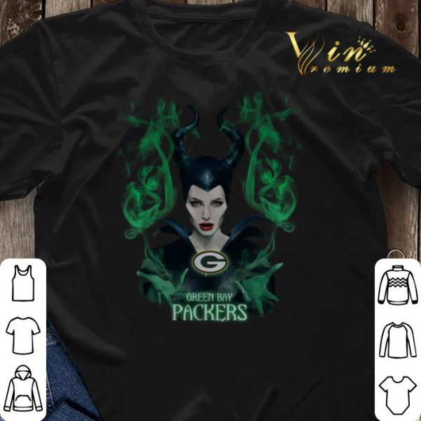 Maleficent Green Bay Packers shirt sweater