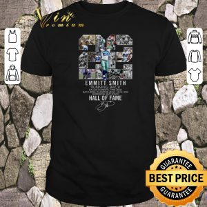 Official 22 Emmitt Smith Running Back Dallas Cowboys Hall Of Fame shirt sweater