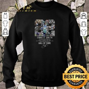 Official 22 Emmitt Smith Running Back Dallas Cowboys Hall Of Fame shirt sweater 2