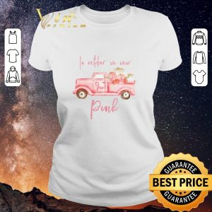 Official Breast cancer awareness Truck In october we wear Pink shirt