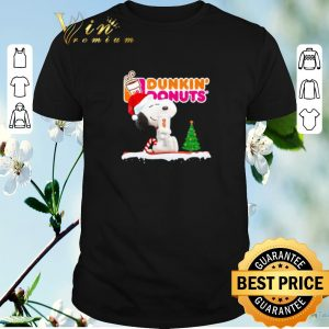 Original Snoopy drink Dunkin' Donuts Christmas shirt sweater