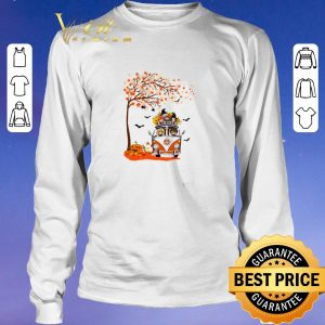 Premium Harry Potter characters hippie car autumn leaf tree shirt sweater 2